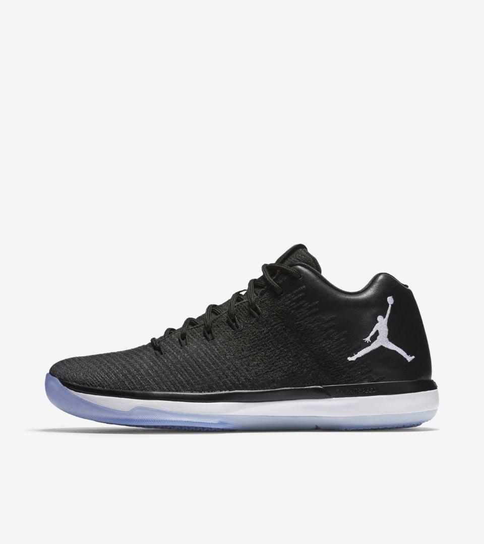 Air Jordan XXXI Low 'Black \u0026amp; White