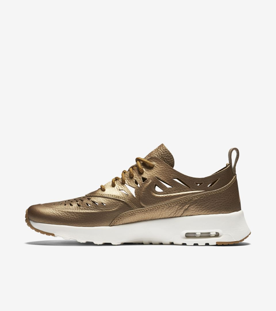 Women s Nike Air Max Thea Joli  Metallic Golden Tan . Nike⁠+ SNKRS f72a911bd