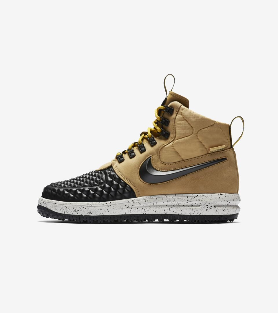 8abcd66d8660 Nike Lunar Force 1 Duckboot  Black   Tan  Release Date. Nike⁠+ SNKRS