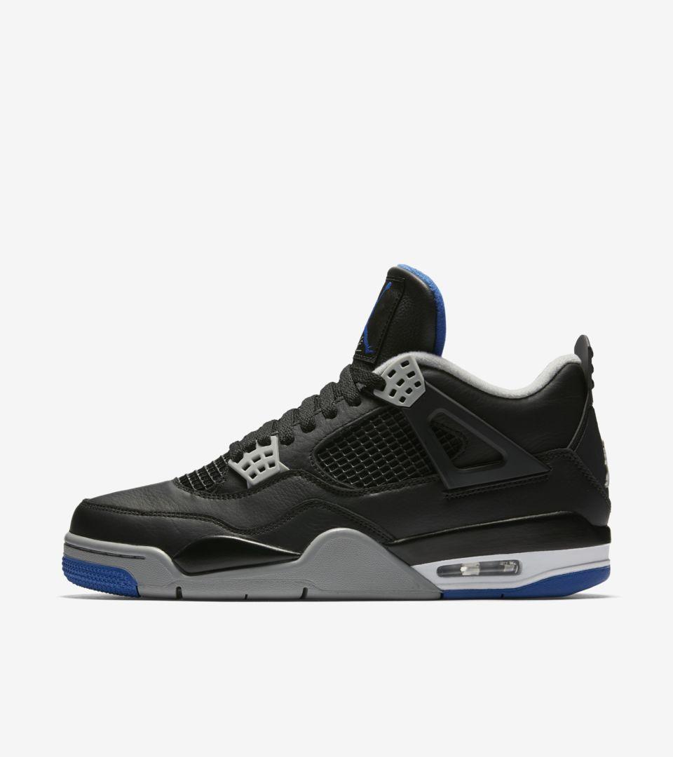 f34890b7938f38 Air Jordan 4 Retro  Motorsport Away  Release Date. Nike+ SNKRS