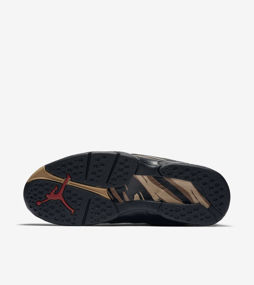 promo code c4ce6 211ce Air Jordan 8 Retro OVO 'Black & Metallic Gold' Release Date ...