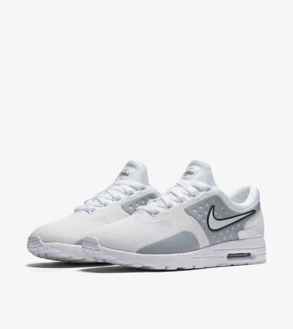 low priced bd2bc 09e9a Women's Nike Air Max Zero 'White & Wolf Grey'. Nike⁠+ SNKRS