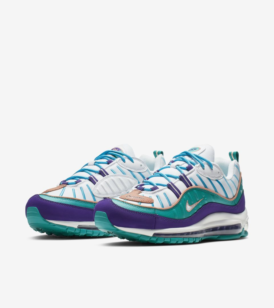 Air Max 98 'White & Teal' Release Date