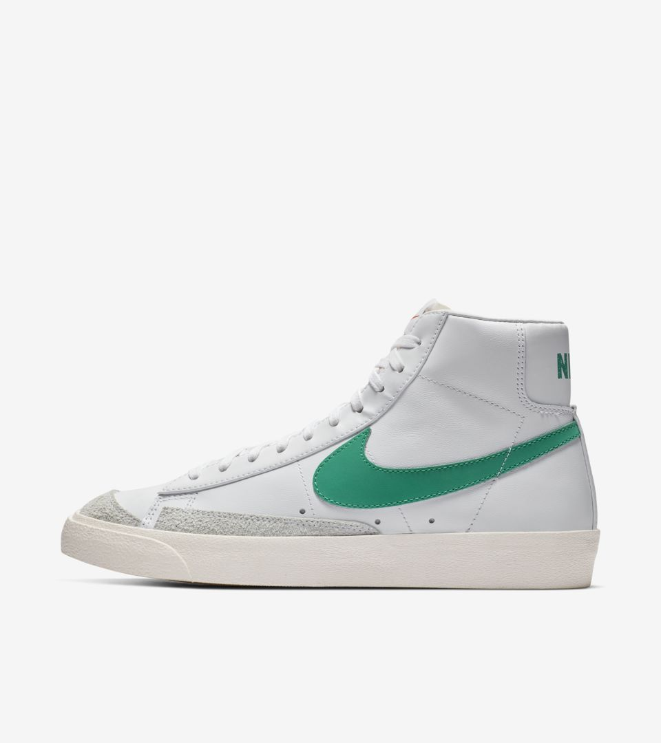 Nike Blazer Mid '77 Vintage 'Lucid Green & White & Sail' Release Date