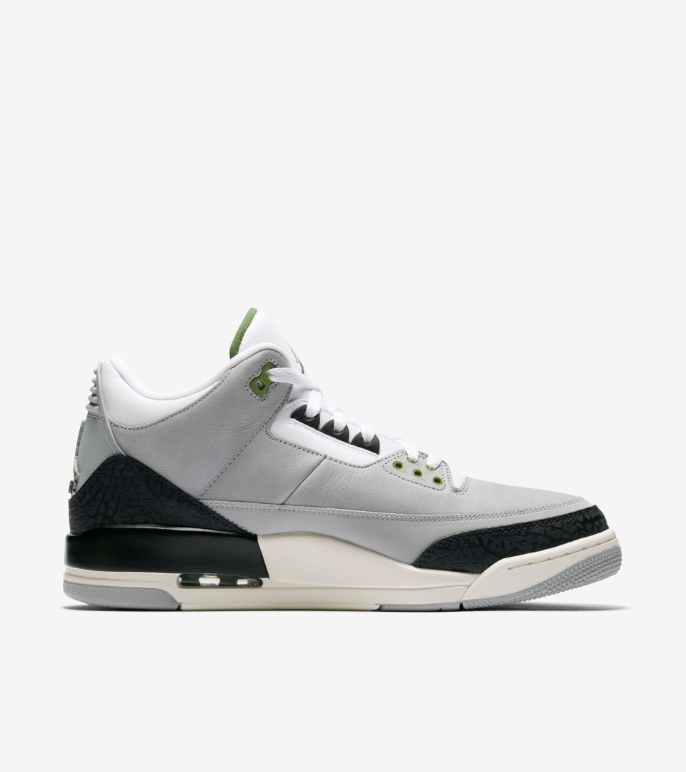buy popular fb7a2 3691c ... Air Jordan 3 Air Trainer 1  Light Smoke Grey   Chlorophyll  ...