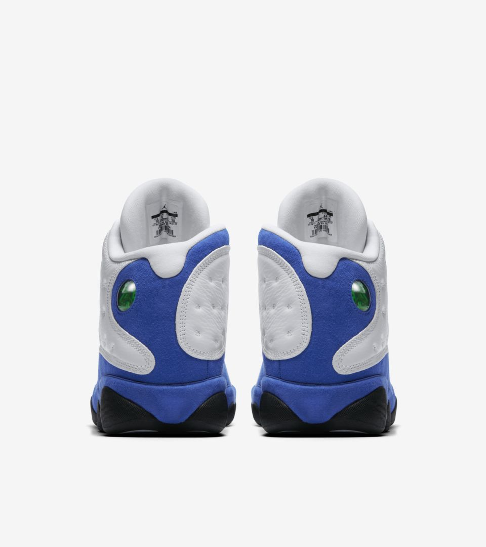 new product b9a0e e92a6 Air Jordan 13 'White & Hyper Royal' Release Date. Nike⁠+ SNKRS