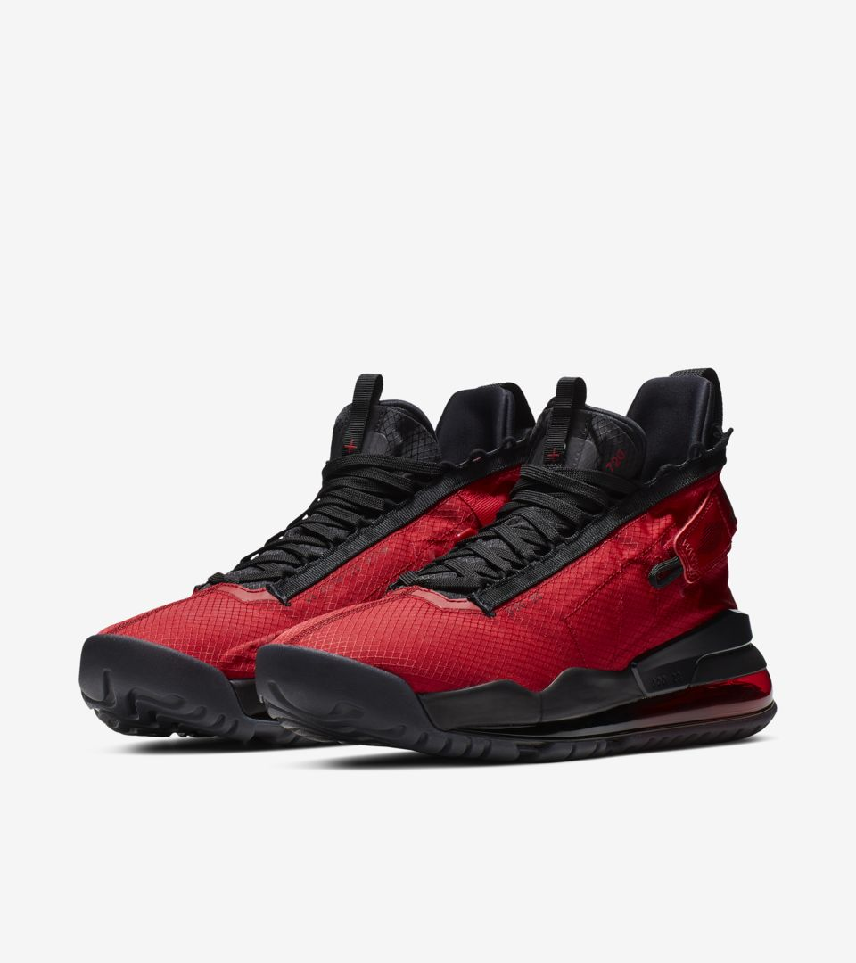 dc2f30d2548 Jordan 720 Gym Red & Black & University Red Release Date. Nike+ SNKRS