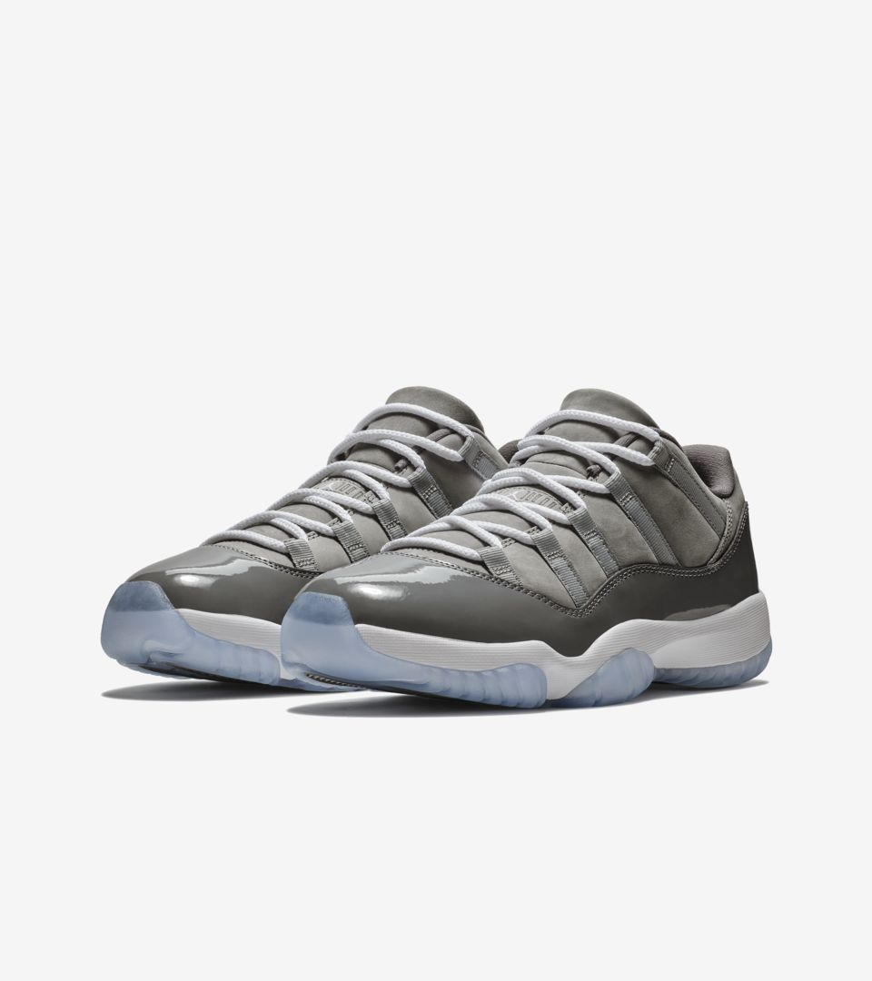 brand new f856c ce075 Air Jordan 11 Low 'Cool Grey' Release Date. Nike⁠+ SNKRS