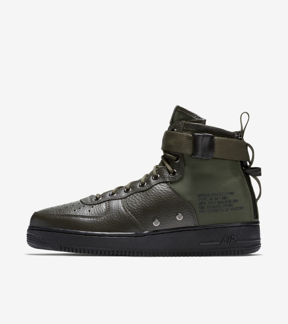 57c715a79a Nike SF AF-1 Mid 'Sequoia' Release Date. Nike⁠+ SNKRS