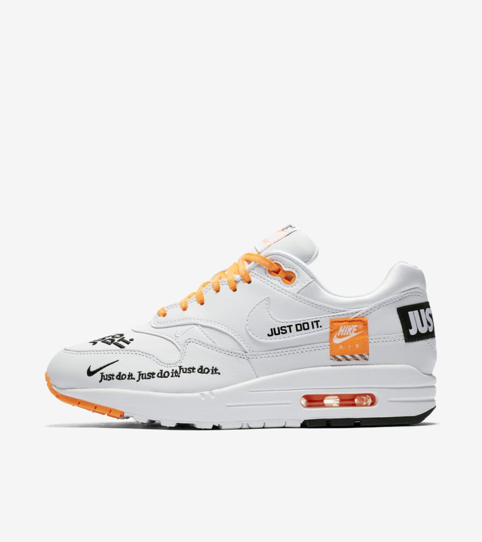 Nike JUST DO IT Running Shoes White