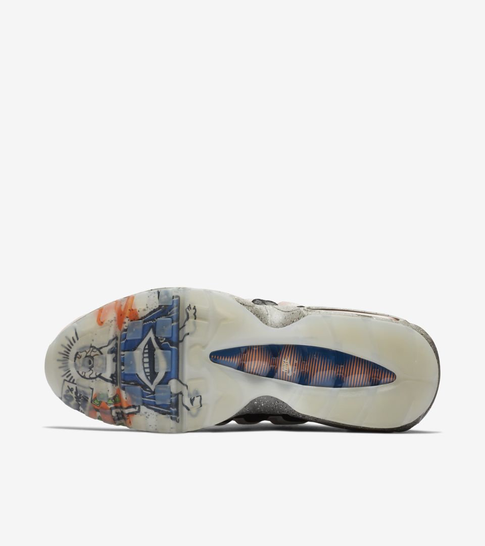 Nike Air Max 95 Mowabb 'Champagne & Safety Orange & Sport Royal & Black' Release Date