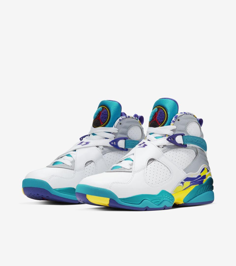 buy popular 74ec8 1cbff Women's Air Jordan VIII 'Aqua' Release Date. Nike+ SNKRS