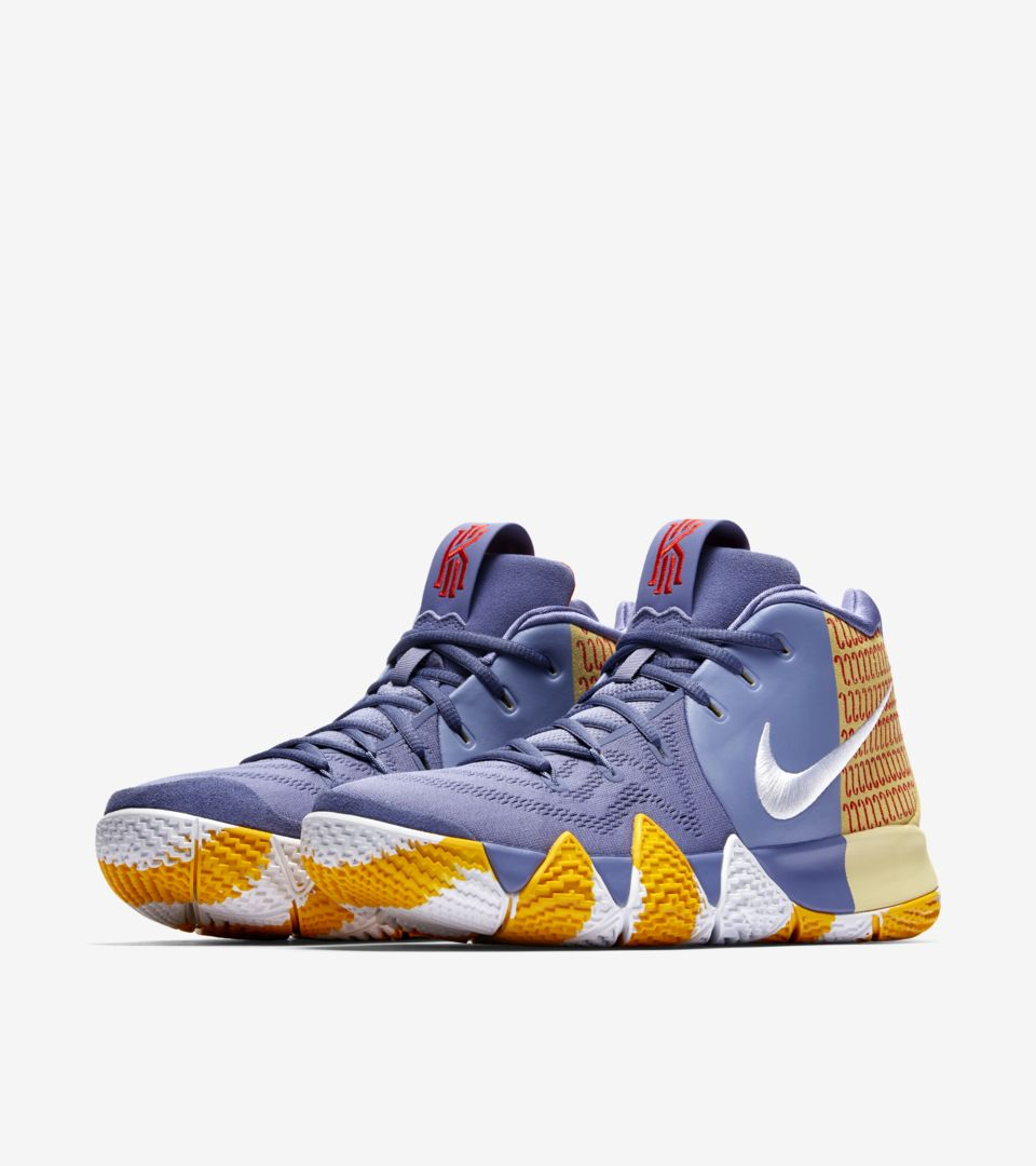 on sale a39f4 f7d3f Kyrie 4 'LDN PE' 2018 Release Date. Nike+ Launch GB