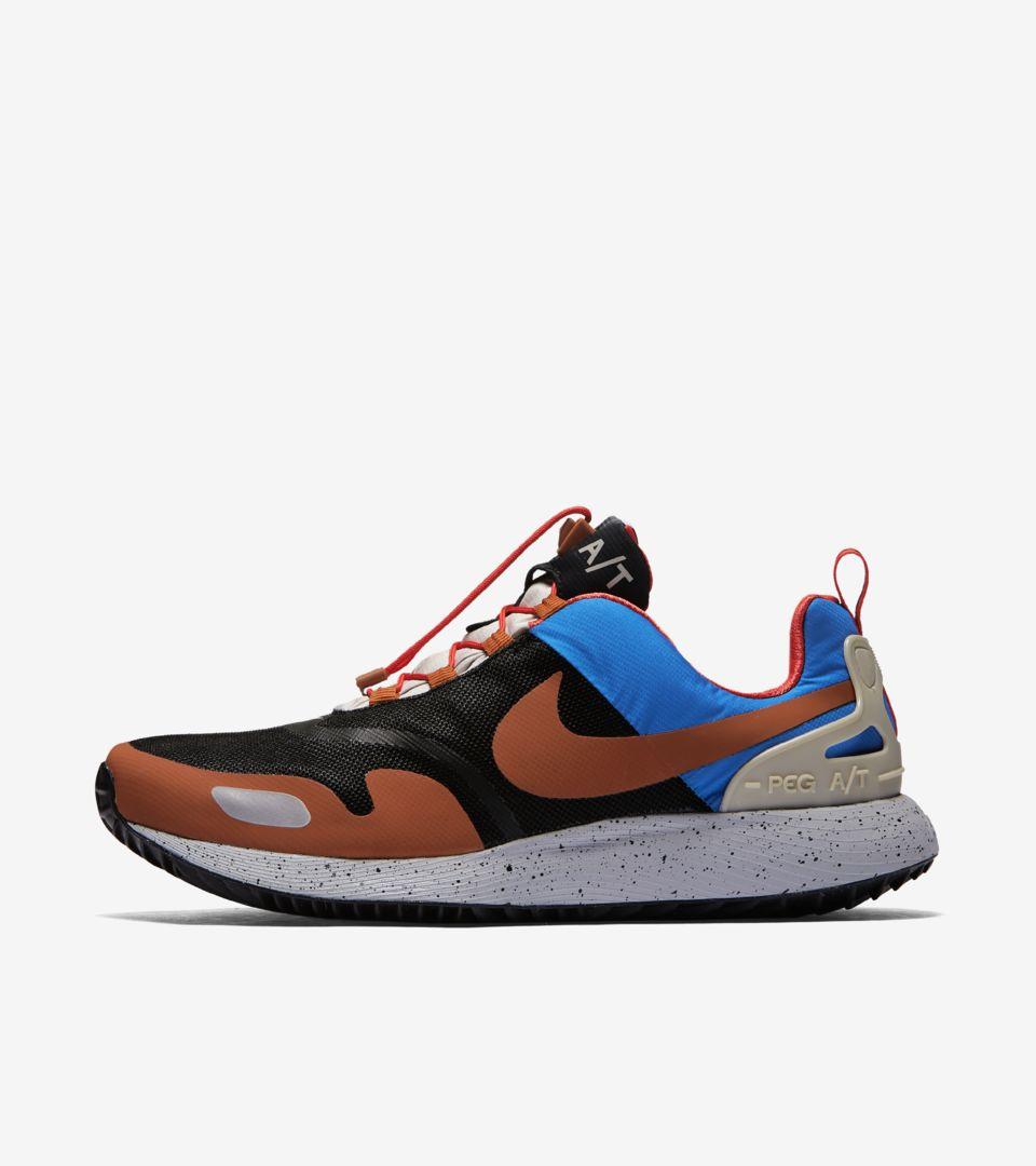 0d8a703e86c3 Nike Air Pegasus A T  Black   Blue Nebula  Release Date. Nike+ SNKRS