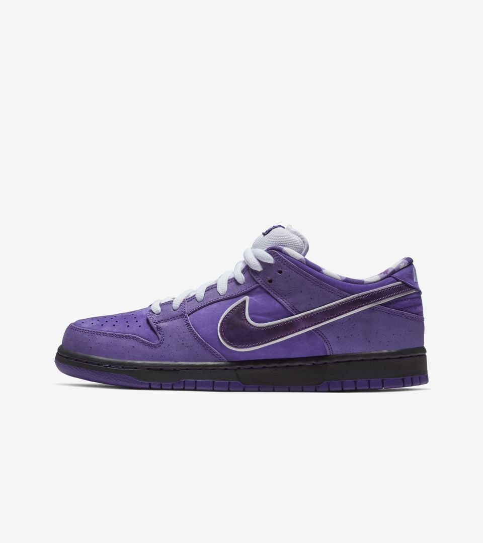 watch ccc62 af194 best price nike sb dunk low pro purple lobster release 93e11 0270f