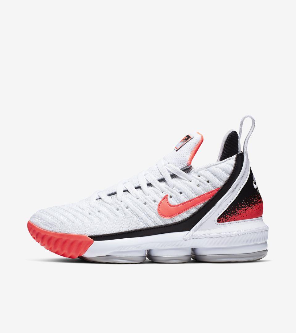 best cheap 85236 c9c37 LeBron 16 'Hot Lava' Release Date. Nike+ SNKRS
