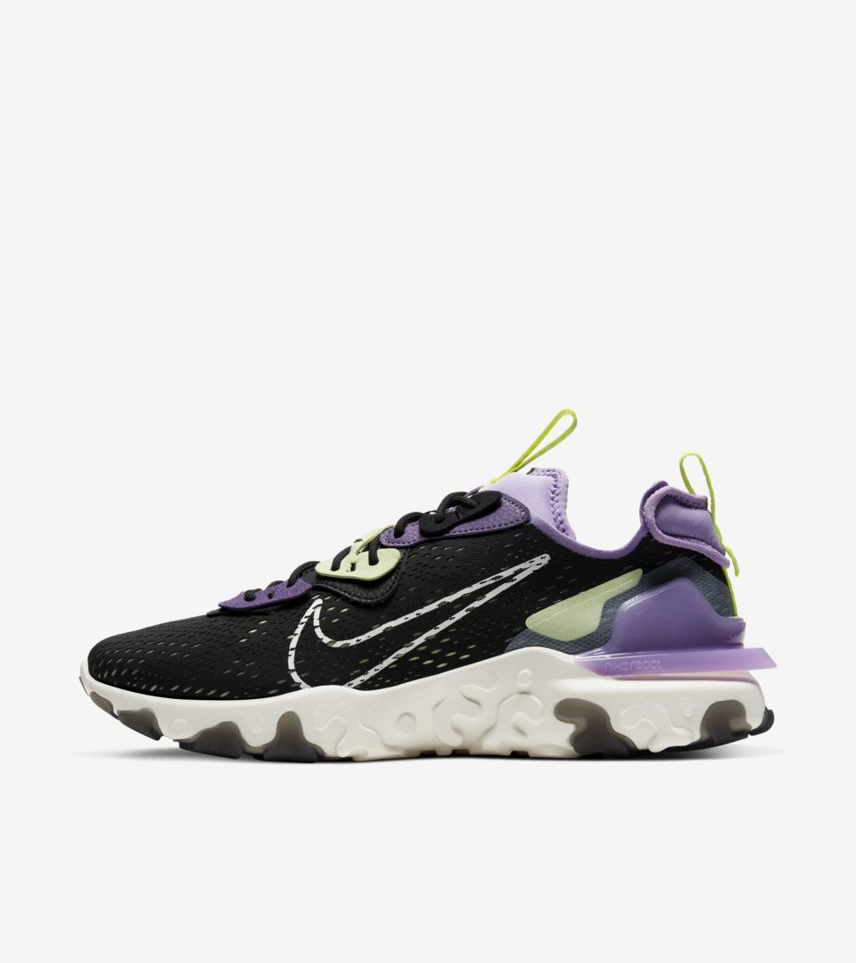 Nike React Vision 'Gravity Purple' Release Date. Nike SNKRS ID