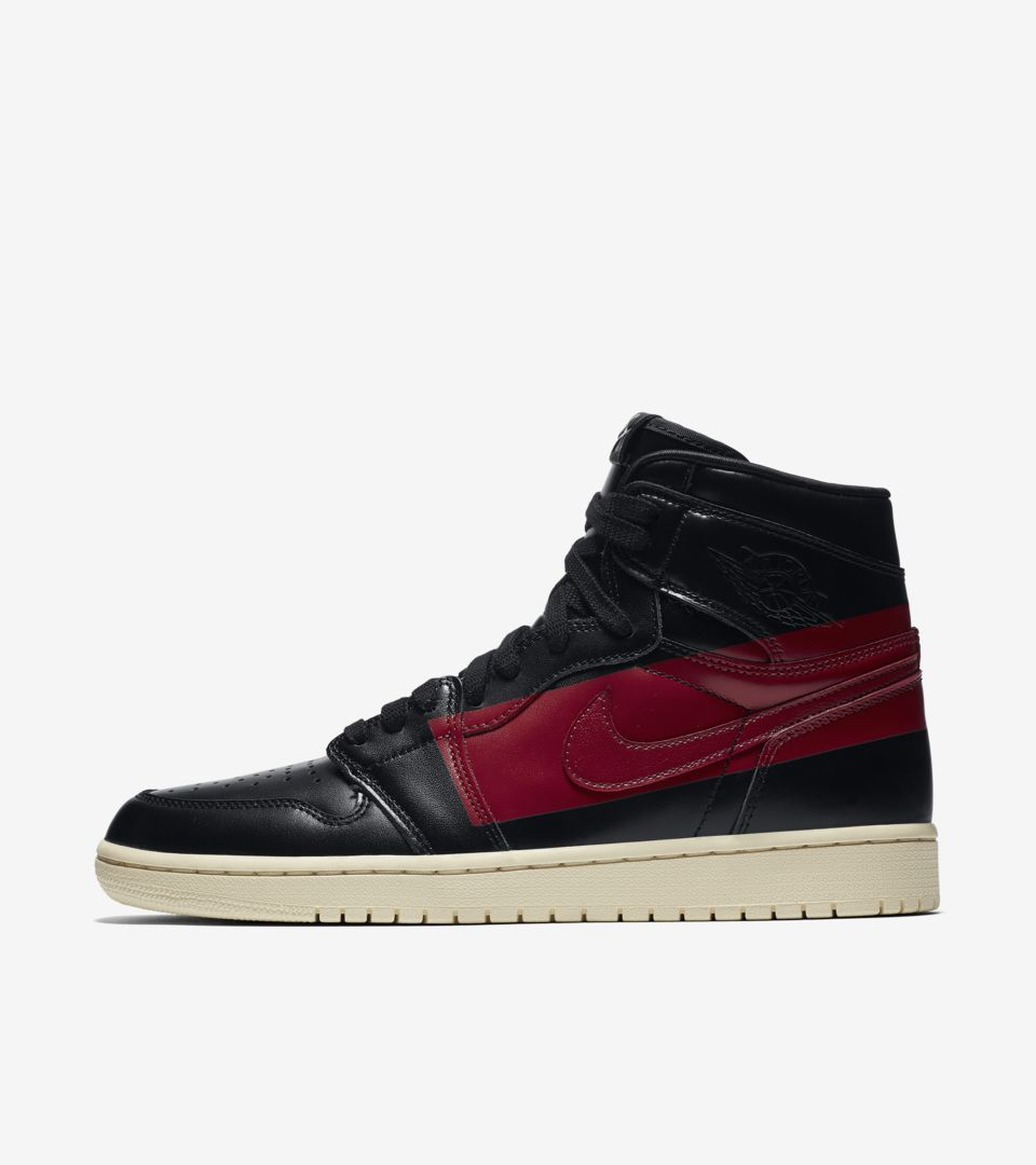 Air Jordan 1 High 'Black & Gym Red & Muslin' Release Date