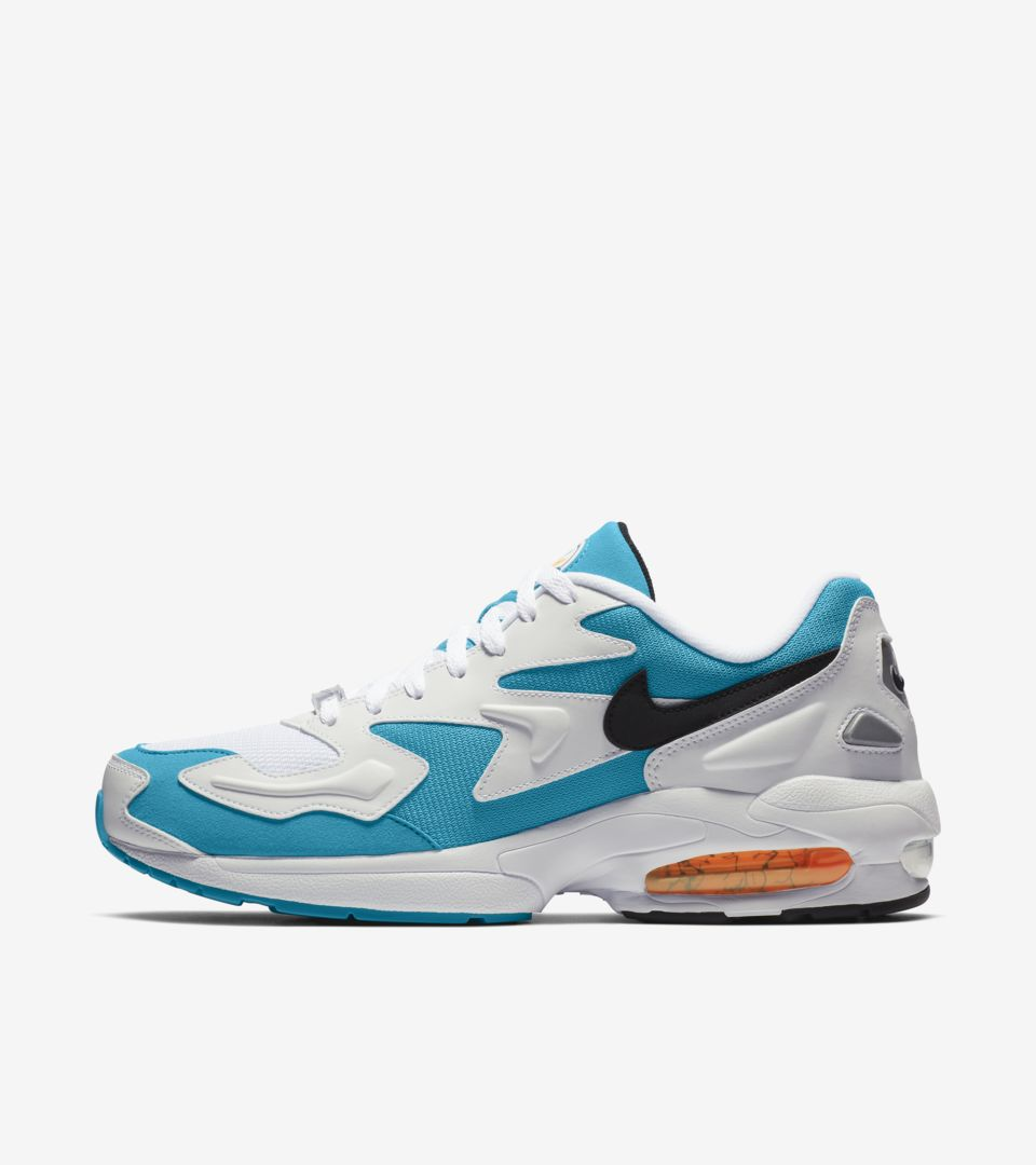 Men's Air Max2 Light 'Blue Lagoon' Release Date.. Nike</p>                     </div>   <!--bof Product URL --> <!--eof Product URL --> <!--bof Quantity Discounts table --> <!--eof Quantity Discounts table --> </div>                        </dd> <dt class=