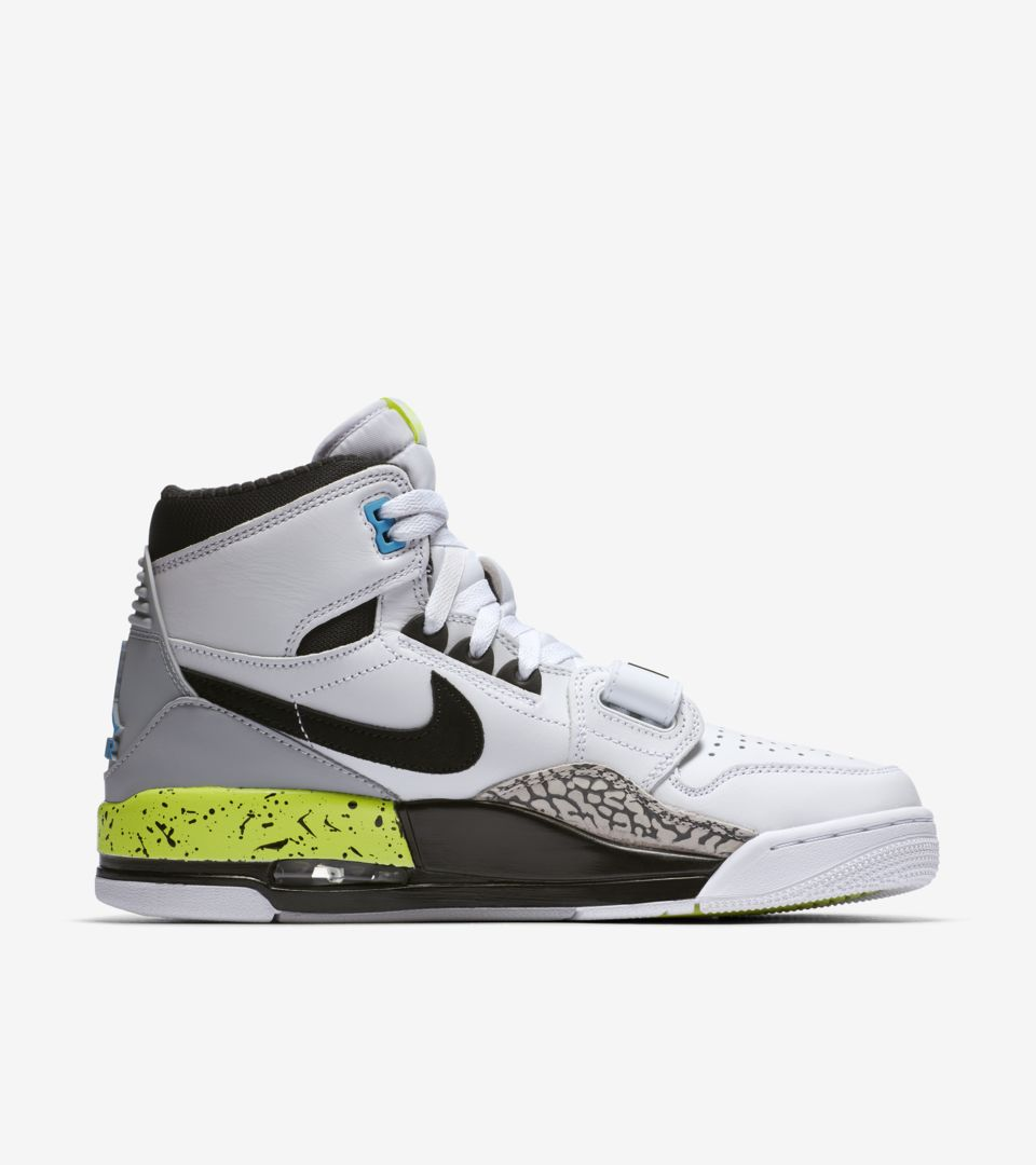 buy popular 32db5 f6651 ... Air Jordan Legacy 312  White   Black   Volt  ...