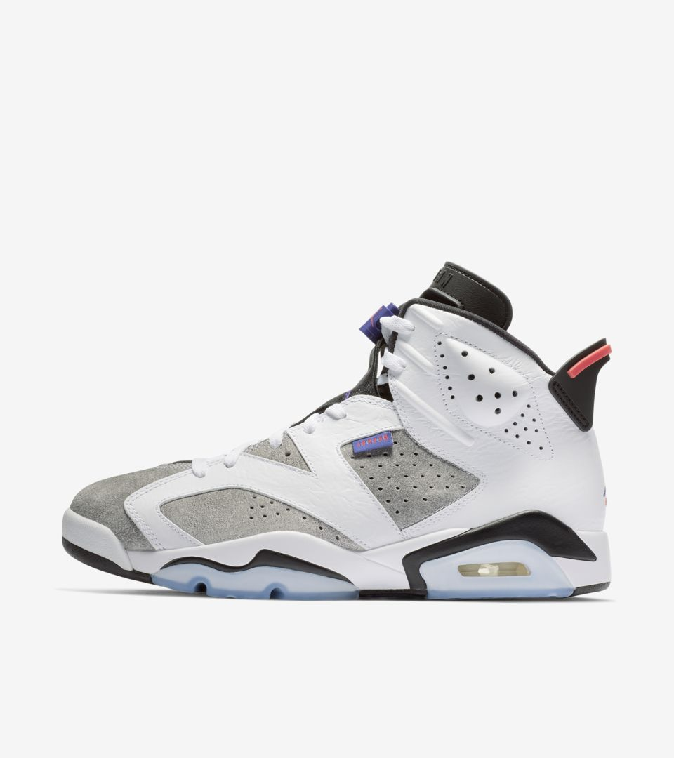 official photos 84cd2 dd5df Air Jordan 6 'White & Dark Concord & Black' Release Date ...