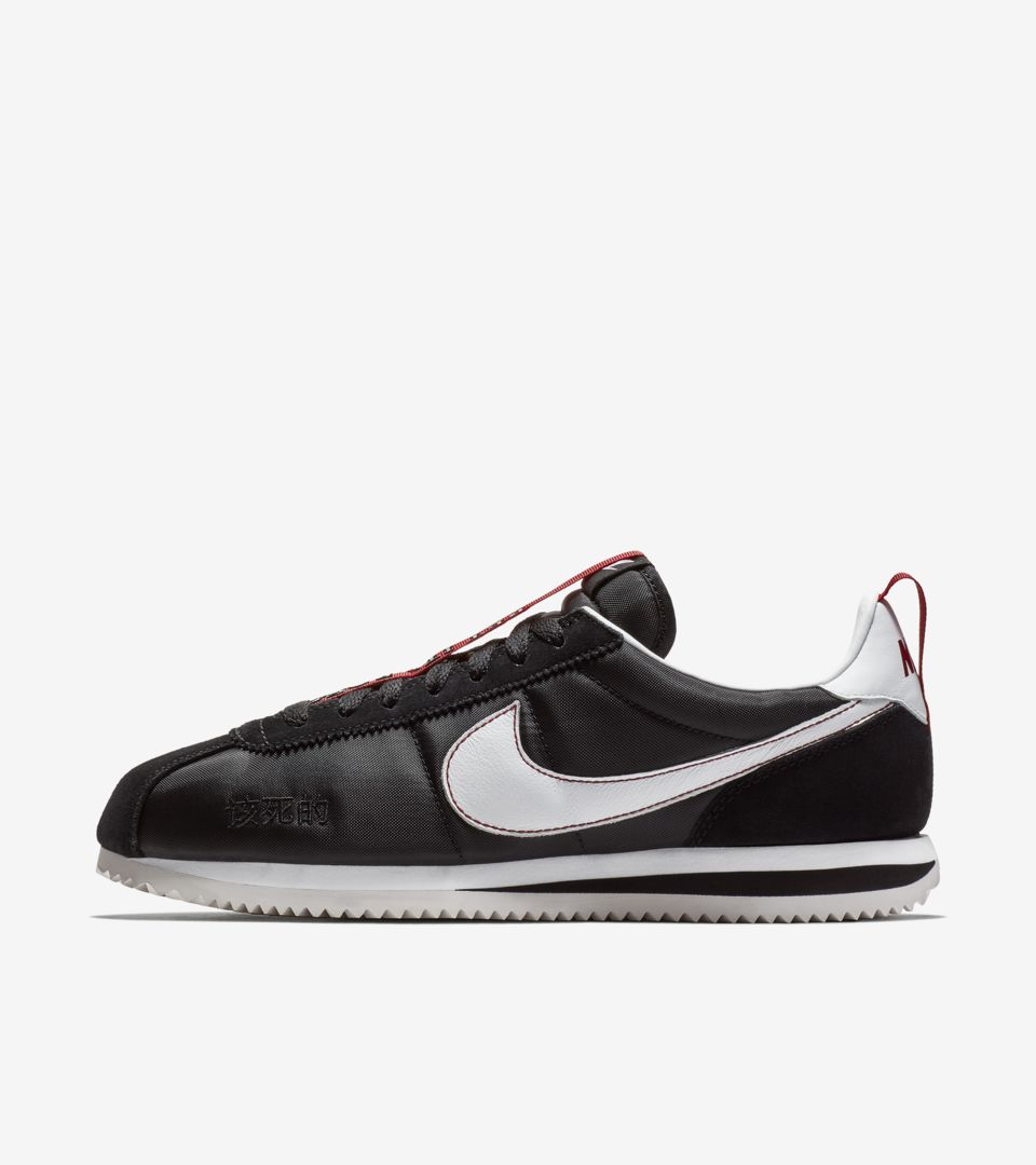 4677cd6028e Cortez Kenny 3  Black   Gym Red  Release Date. Nike+ SNKRS