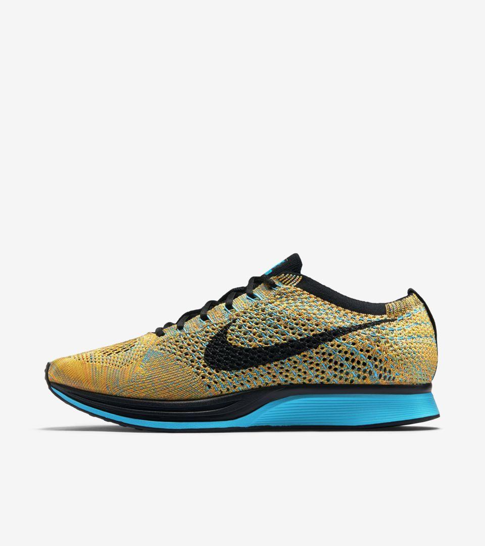 finest selection 288e7 f69e2 Nike Flyknit Racer  Sherbet  Release Date. Nike+ SNKRS
