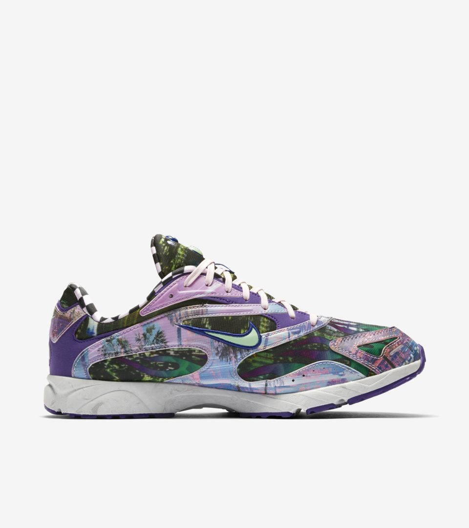 b7708da6a27378 Nike Zoom Streak Spectrum Plus  Court Purple   Light Posion Green  Release  Date. Nike⁠+ SNKRS
