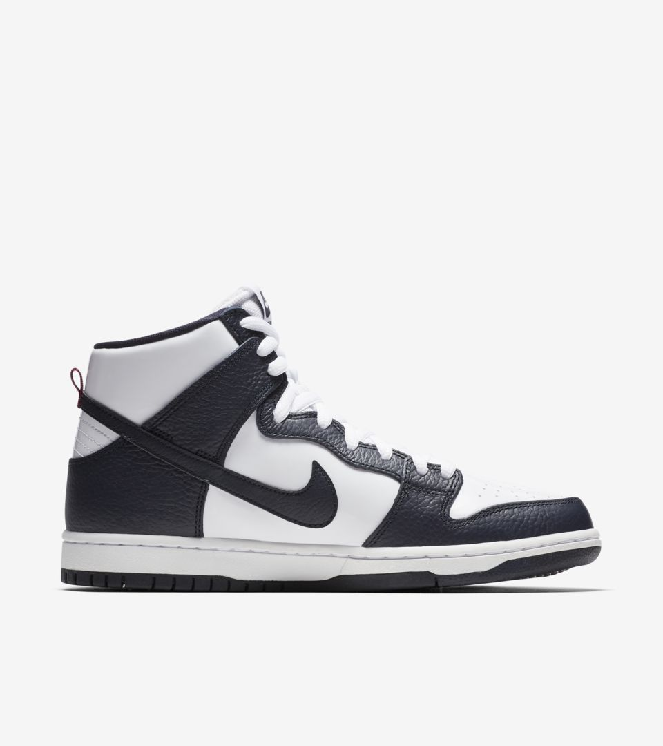 1eb1806a56d2 Nike SB Dunk High Pro  Obsidian   White  Release Date. Nike⁠+ SNKRS