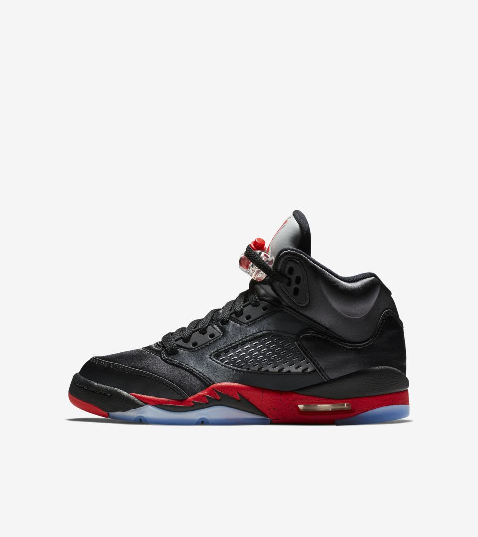 outlet store 4b4e8 321e6 Air Jordan 5 'Black & University Red' Release Date. Nike⁠+ SNKRS