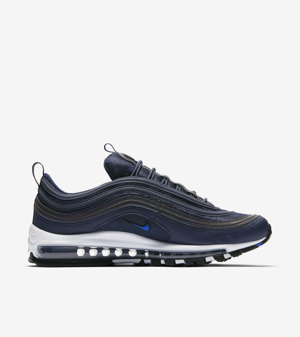 finest selection e71aa a811a Nike Air Max 97 'Obsidian & Black' Release Date. Nike⁠+ Launch GB
