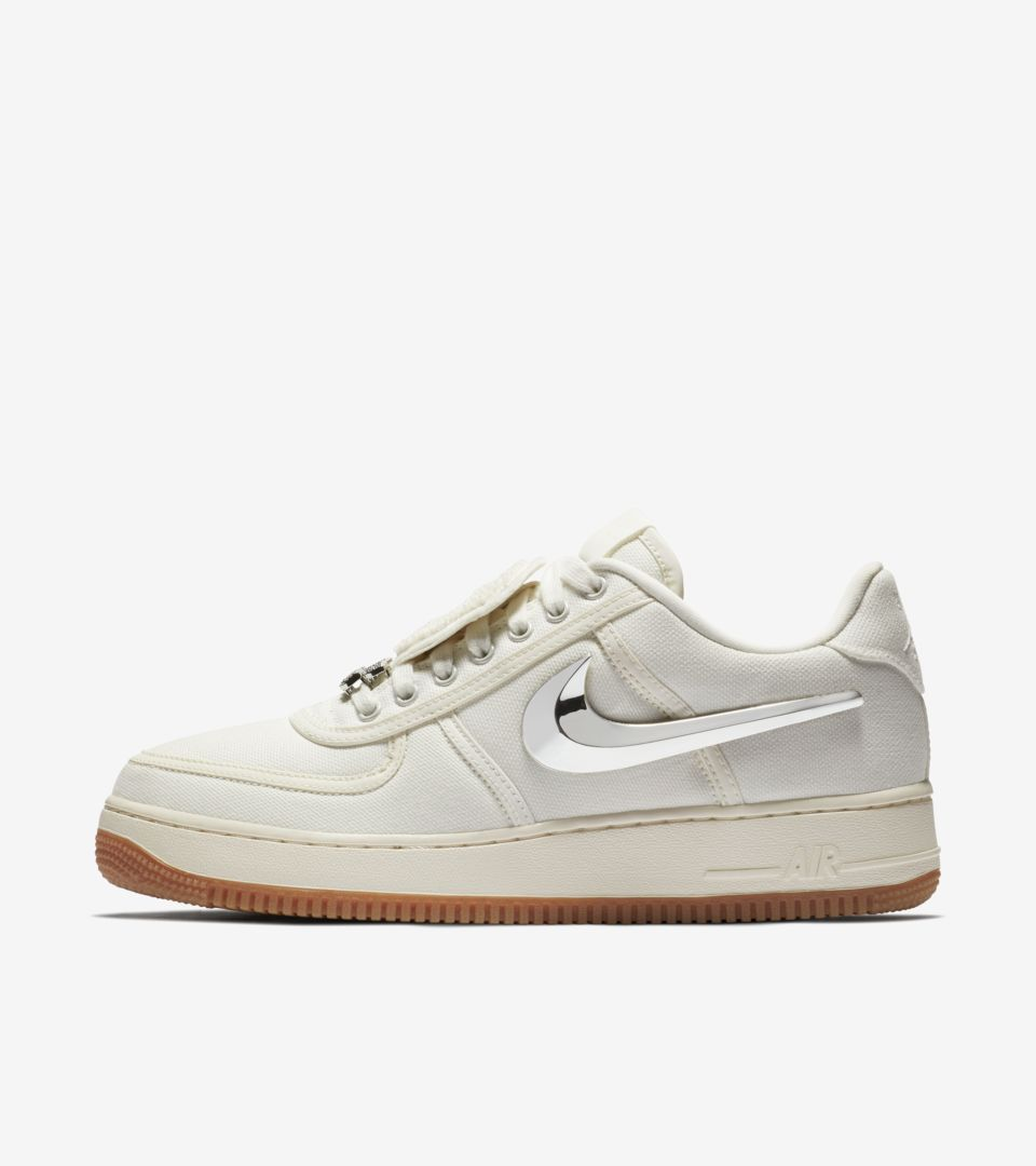 super popular 0c726 5e14e Nike Air Force 1 Low 'Travis Scott' Release Date. Nike⁠+ SNKRS