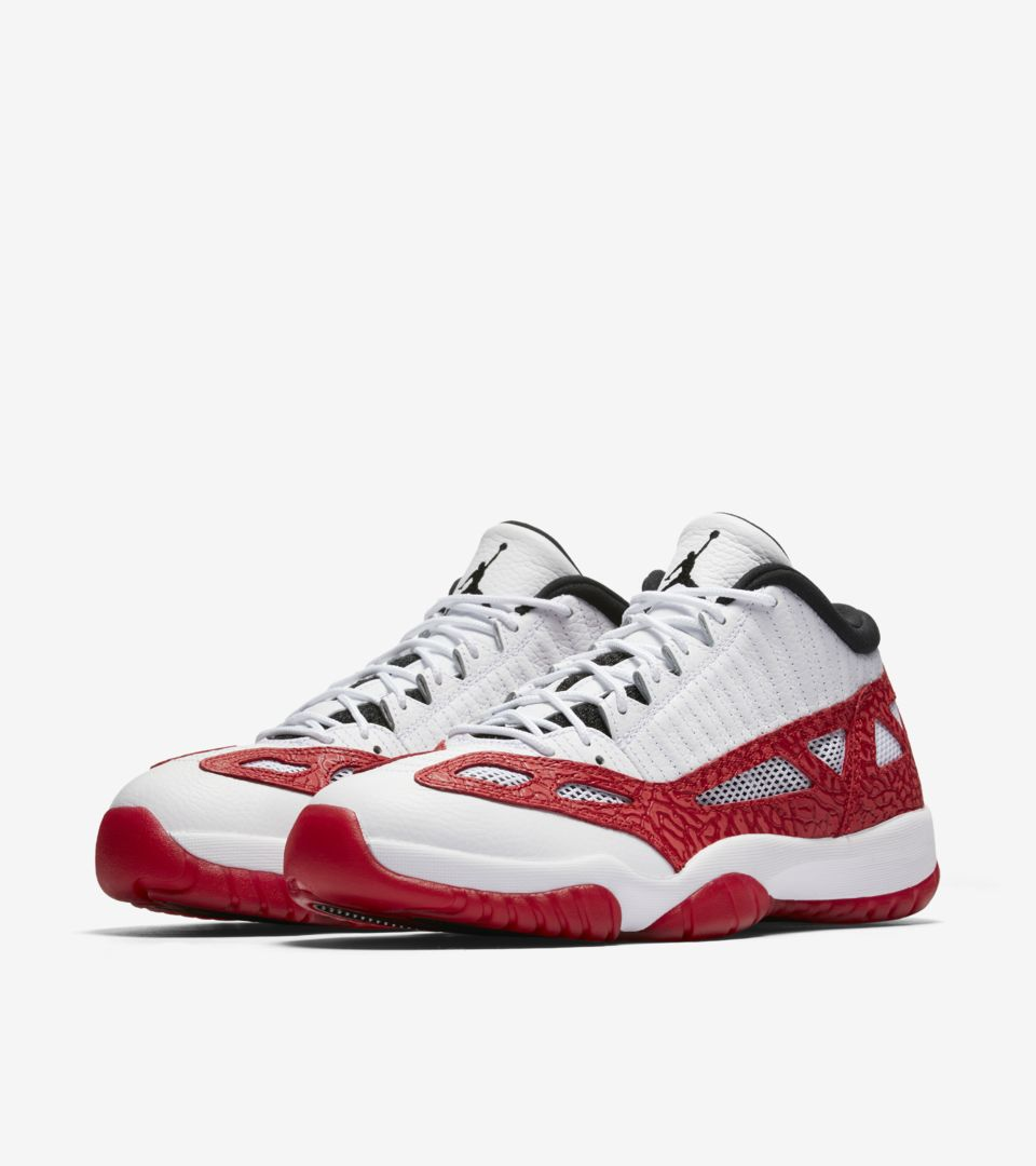 a2317648a1e Air Jordan 11 Retro Low IE 'White & Gym Red' Release Date. Nike⁠+ SNKRS