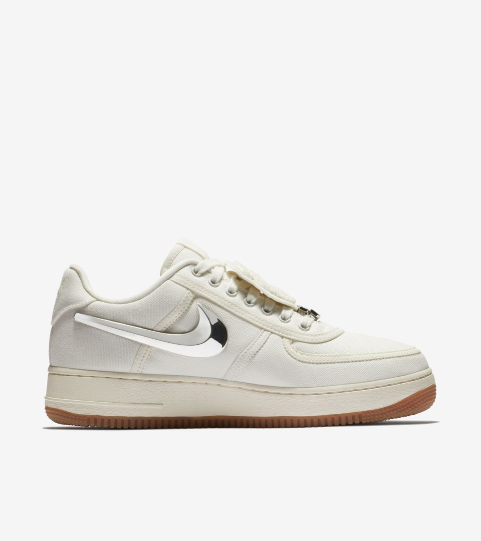 save off 27923 fac47 ... Nike Air Force 1 Low  Travis Scott  Release ...