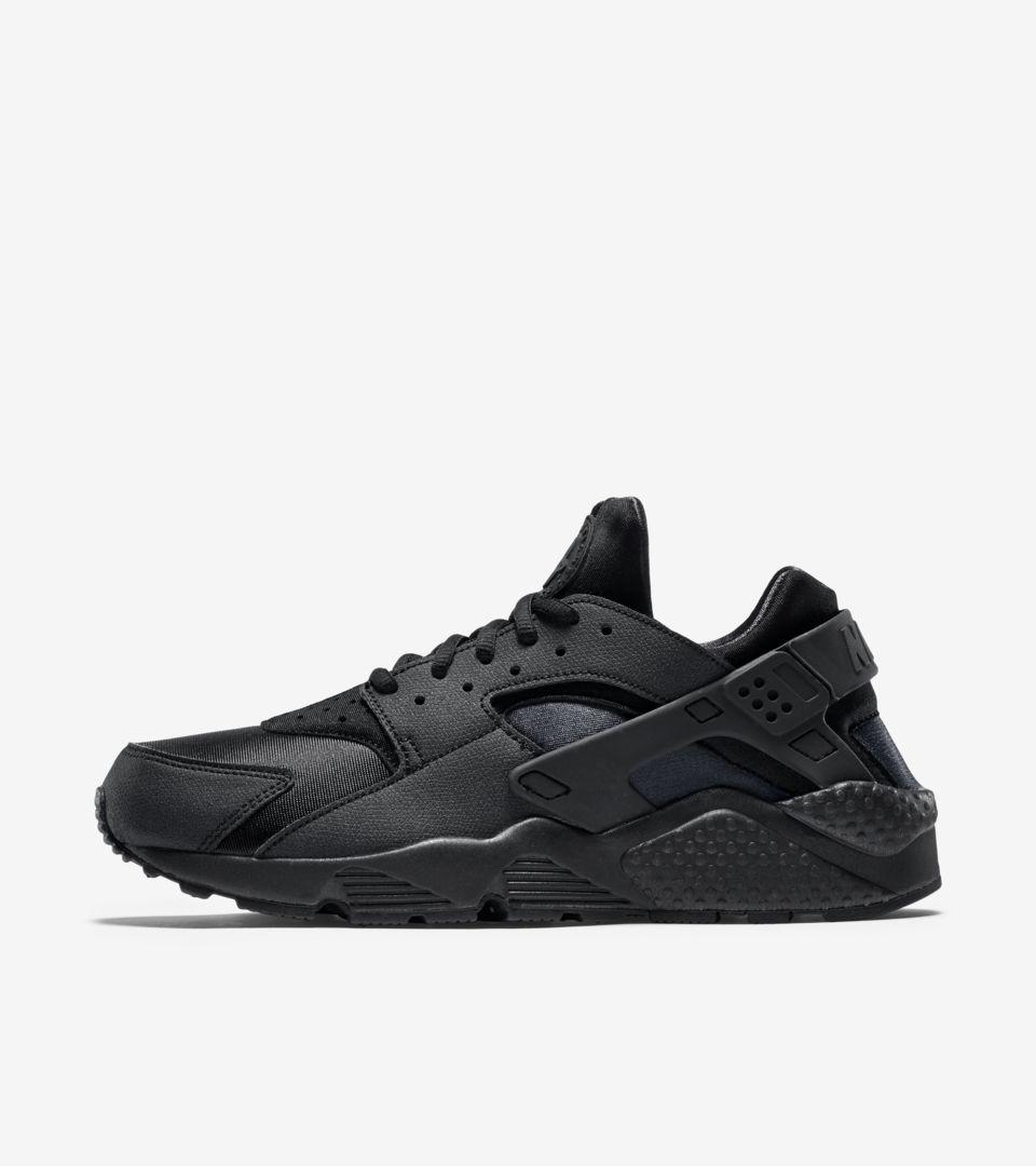 100% authentic cfe17 56f53 official available cf346 58868 nike air huarache premium triple black  blackout shoes menwomen 3da4d 007ee  australia wmns air huarache eb727 2fd71