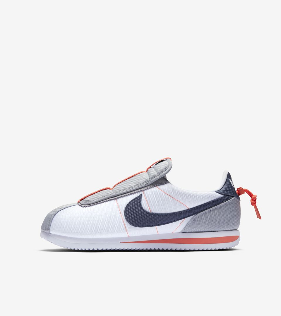 sneakers for cheap 1b177 4843c Nike Cortez Kenny 4 House Shoes 'White & Wolf Grey & Turf ...