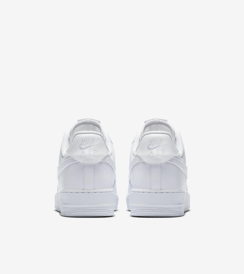 Nike Air Force 1 'White Swoosh Pack' 发布日期