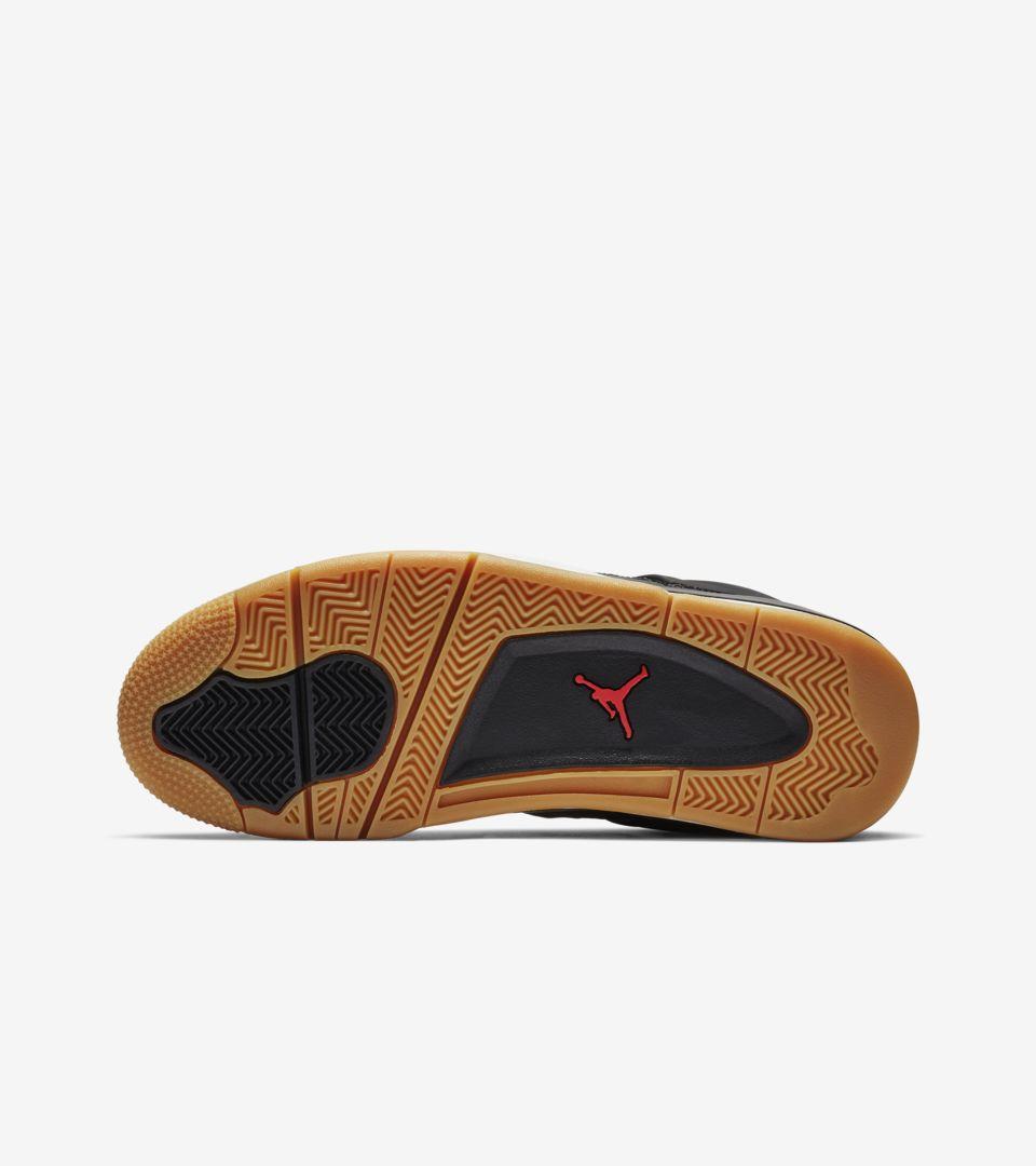 Air Jordan 4 'Black & Gum Light Brown & White' Release Date