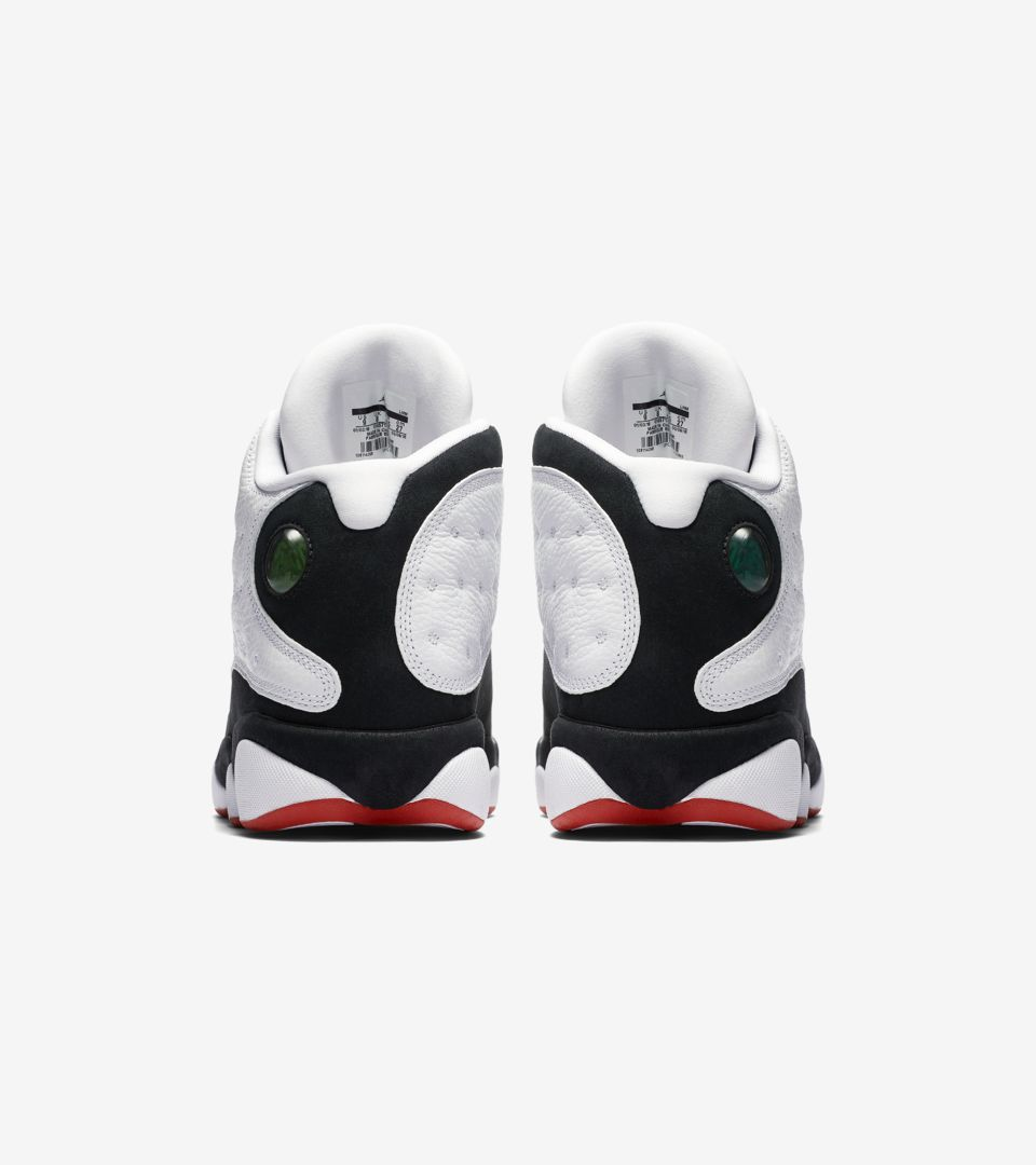ir Jordan 13 Retro 'White & True Red & Black' Release Date