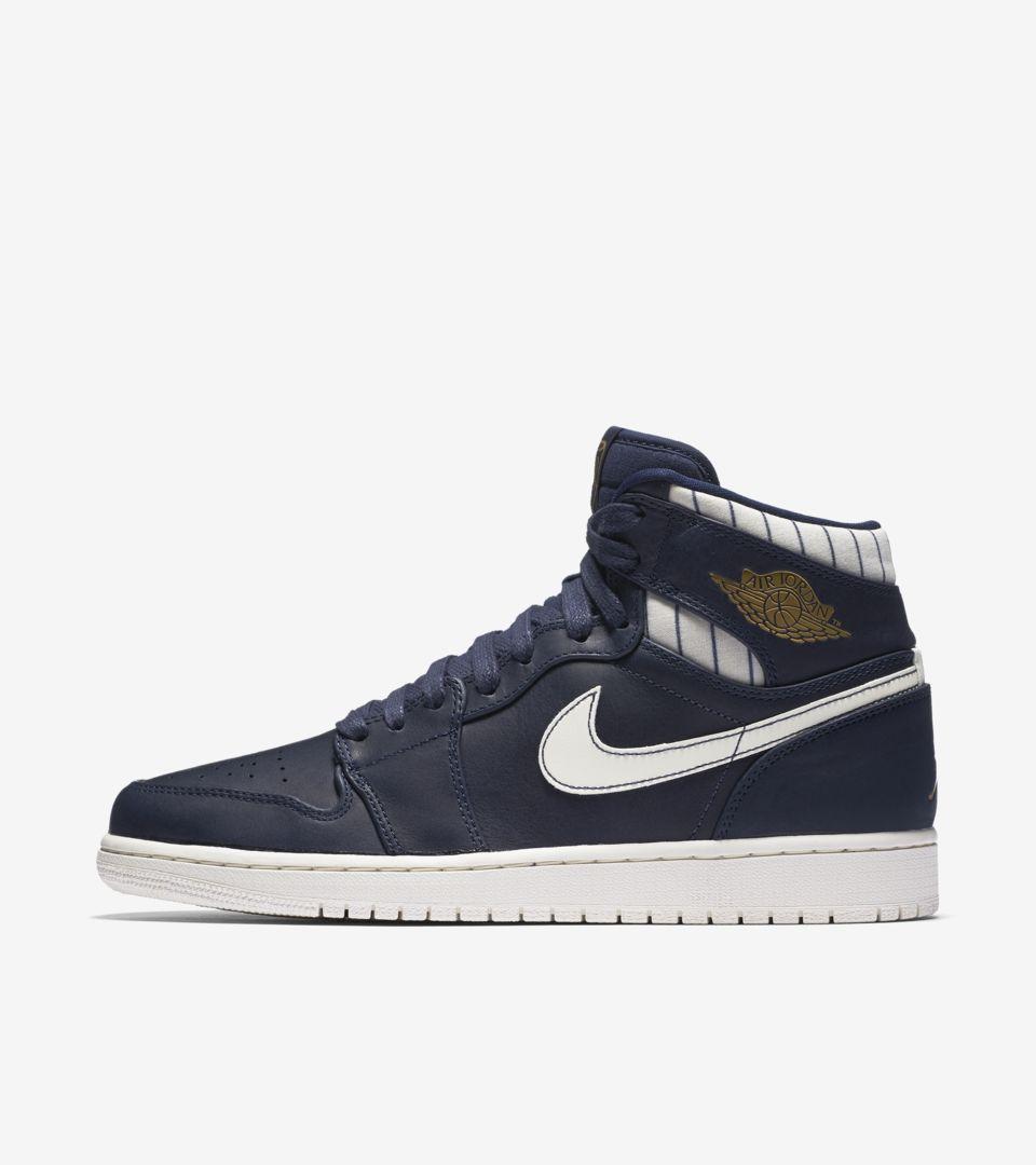 4d930e838b4 Air Jordan 1 Retro 'Jeter'. Nike+ SNKRS