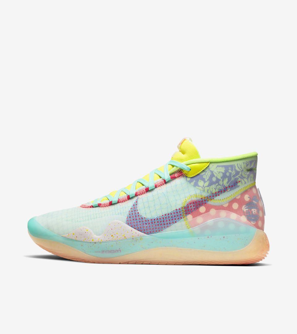 KD12 ' Peach Jam' Release Date. Nike SNKRS
