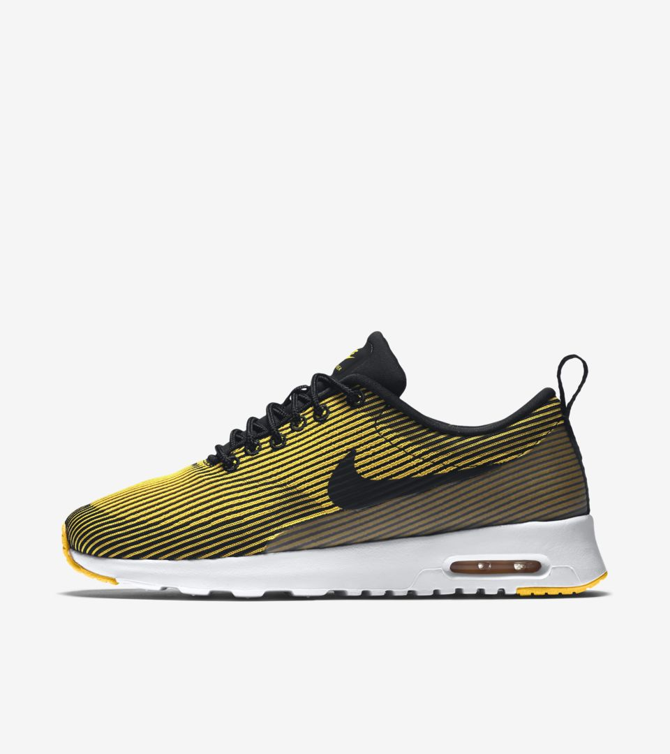 Women's Nike Air Max Thea Jacquard 'Varsity Maize & Black