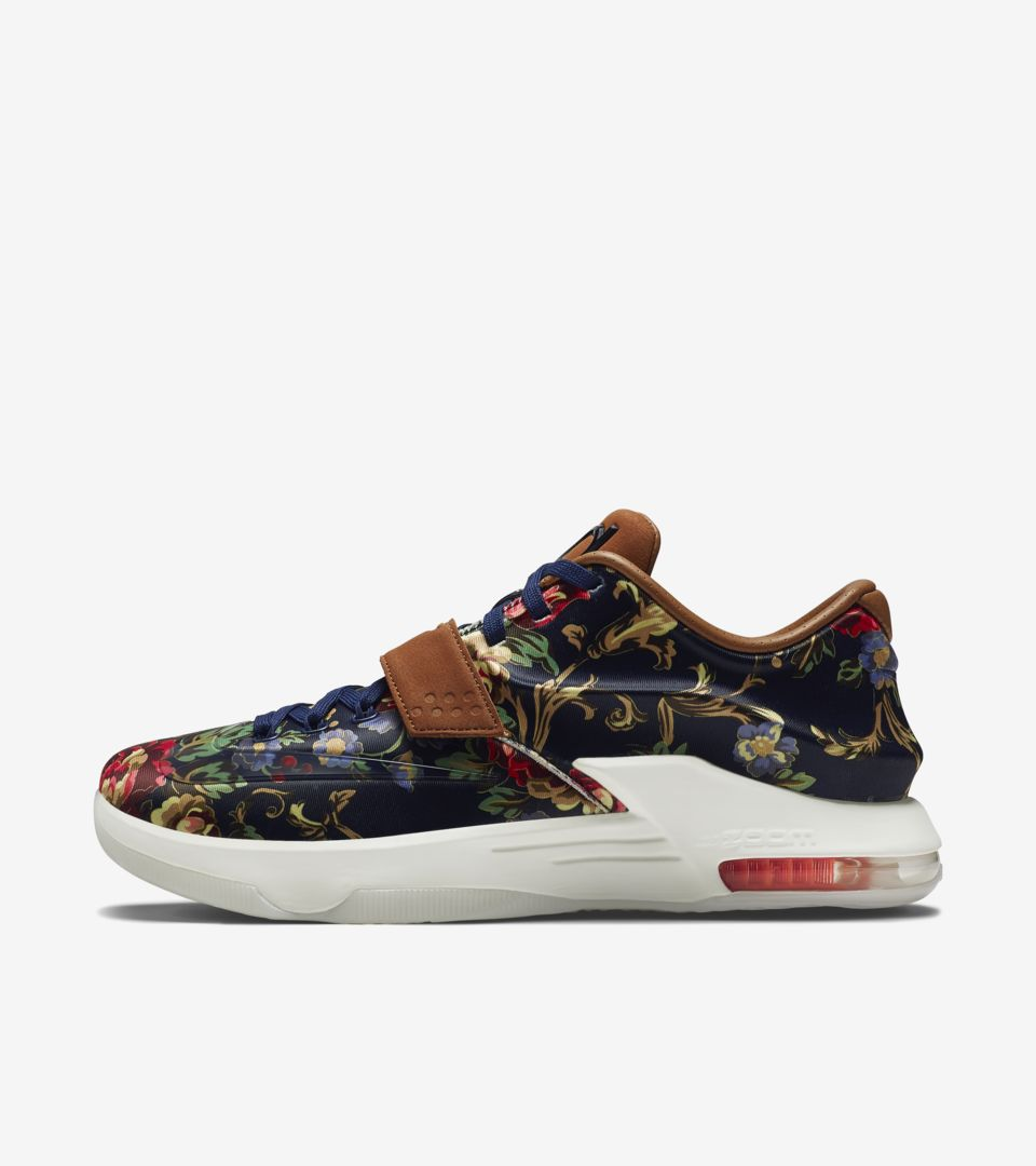 17e33f1f8836 Nike KD 7 EXT  Floral  Release Date. Nike+ SNKRS