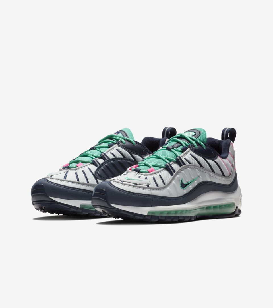 Nike Air Max 98 'Pure Platinum & Obsidian