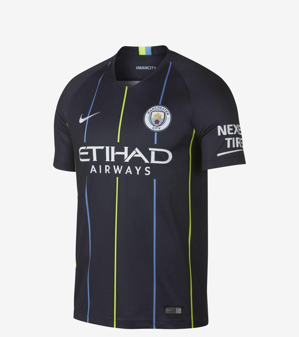 Manchester City 2018/19 Stadium Away Jersey