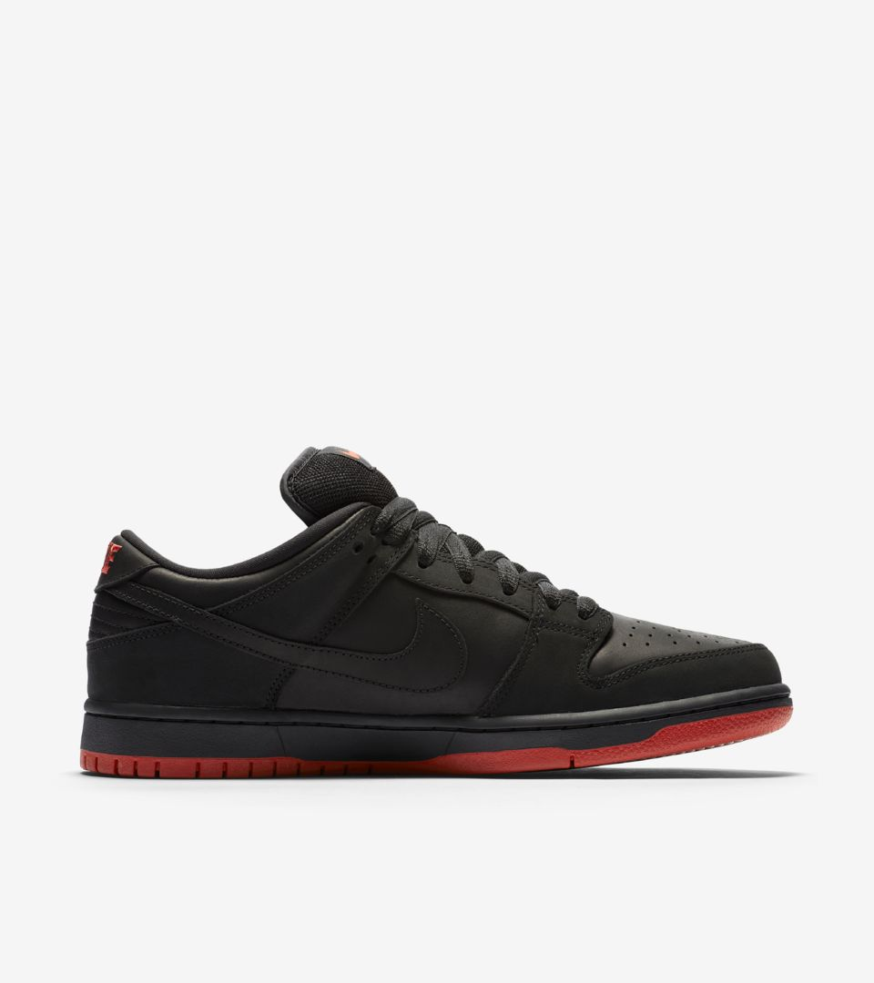 sports shoes d1486 af991 Nike SB Dunk Low Pro 'Black Pigeon' — releasedatum. Nike⁠+ Launch BE