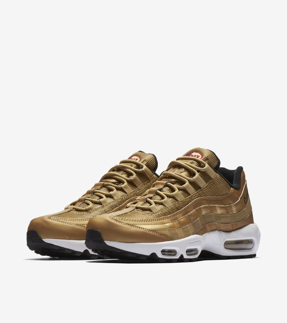 Release Gold' Max DateNike Nike SNKRS Air 'Metallic 95 QCrxWBdoe