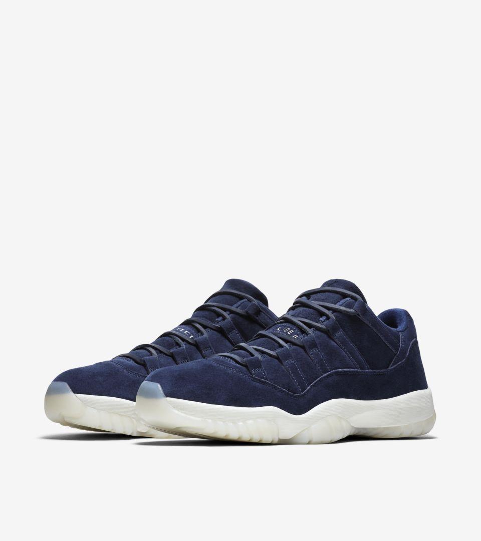 on sale d59d3 2a761 Air Jordan 11 Low 'Binary Blue' Release Date. Nike+ SNKRS