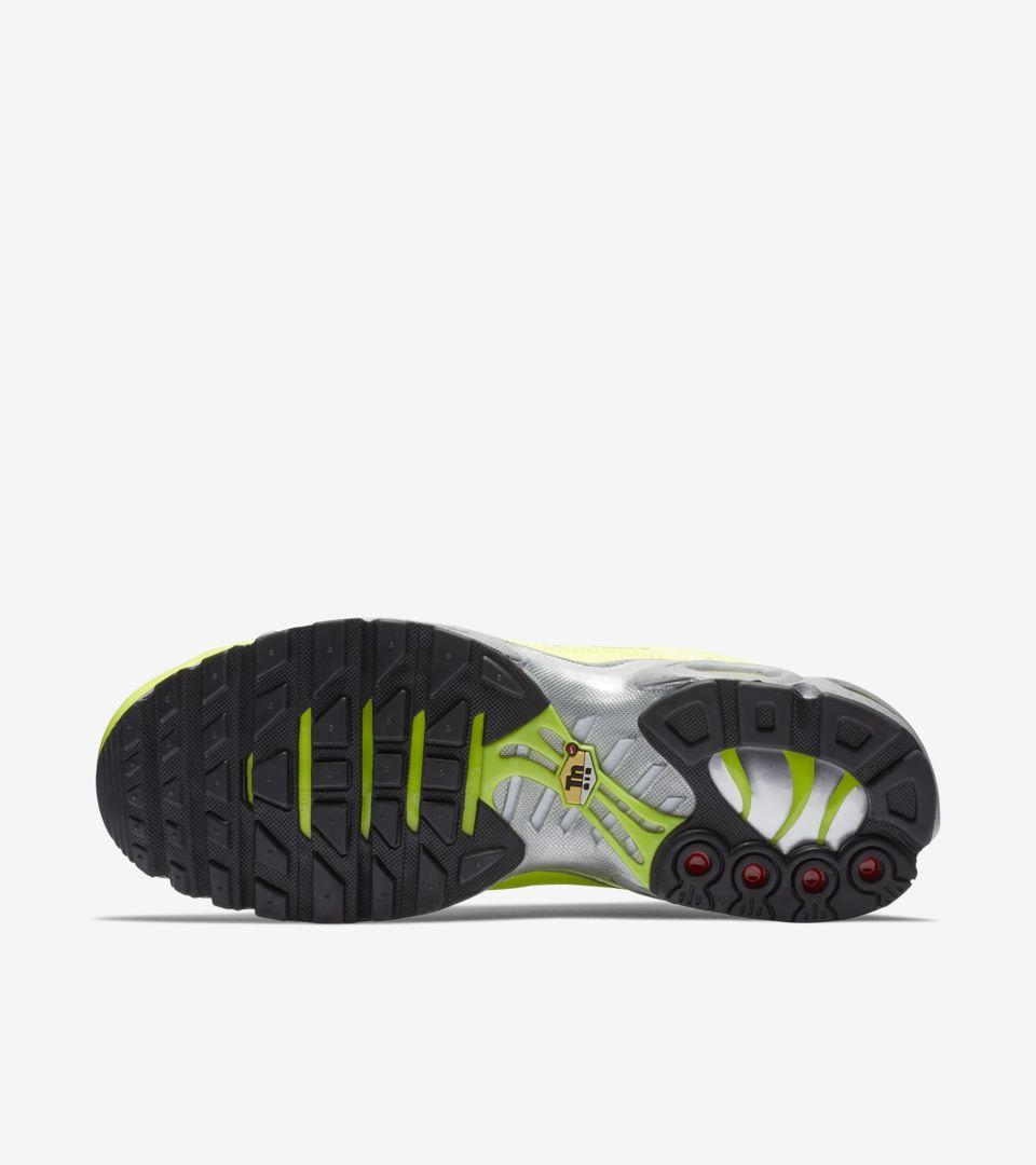 a5da3cae5b Nike Air Max Plus Premium 'Full Volt & Matte Silver' Release Date ...