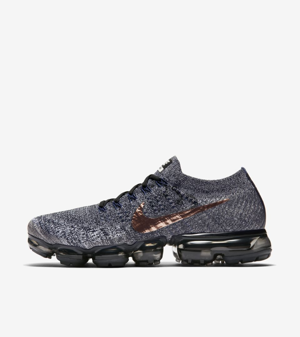 8bfb2dac86225 Nike Air VaporMax  College Navy   Metallic Red Bronze  Release Date ...